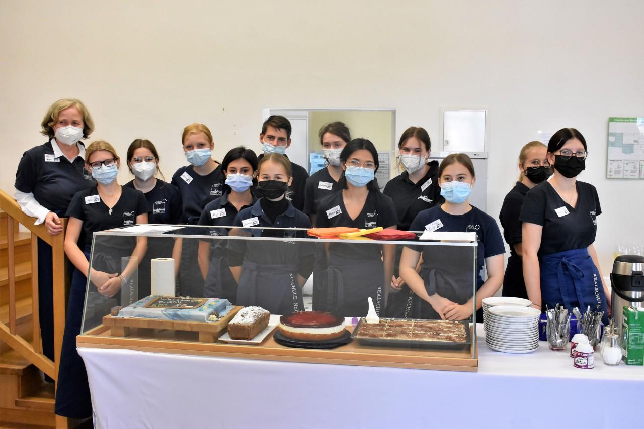 Das Schulcafé-Team - Ausdruck der Gastfreundlichkeit